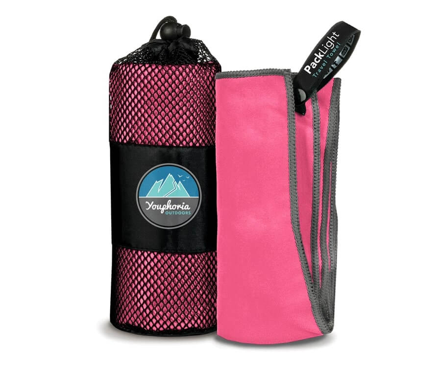 #5 best travel gifts for her: ultra compact microfiber towel