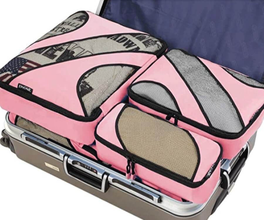 #8 travel gift sets for her: packing organizer set