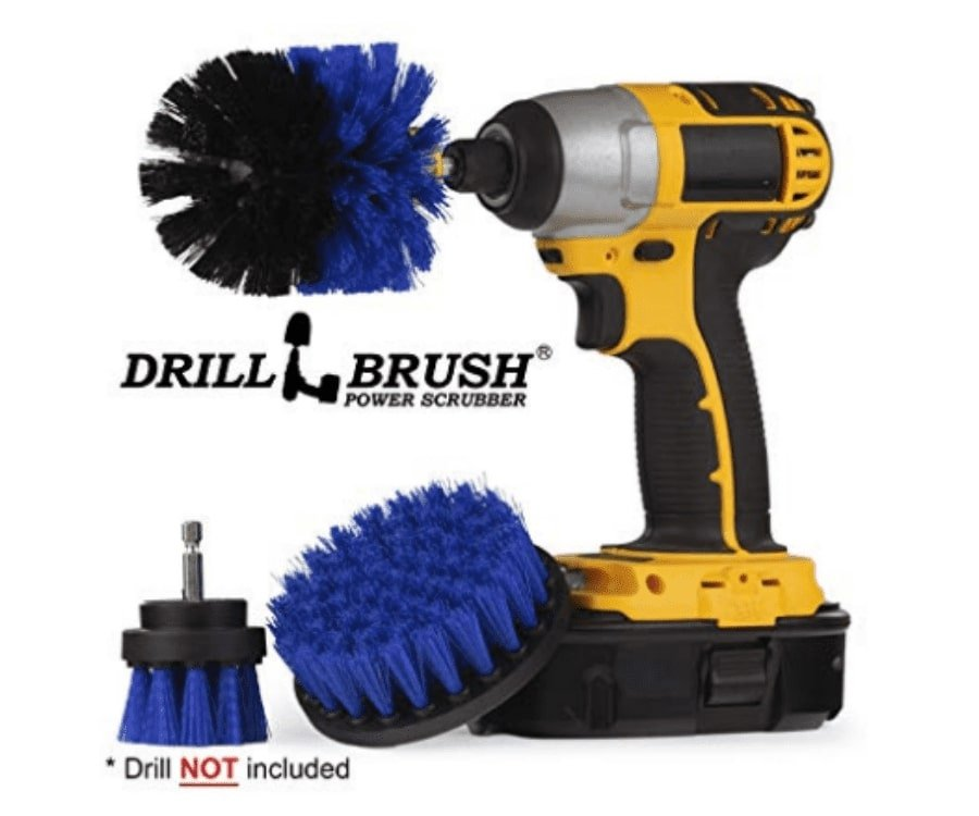 #6 best gifts for kayakers: Drill Brush Set For Kayaks