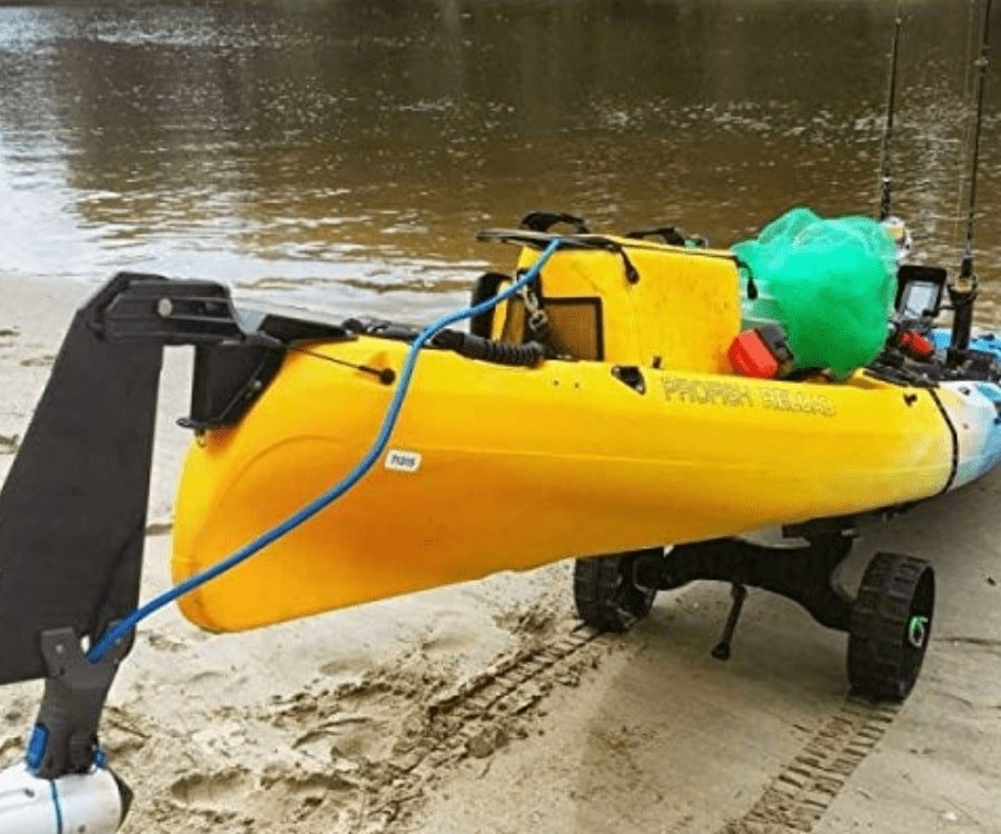 #16 best gifts for kayakers: Kayak Trolley Cart