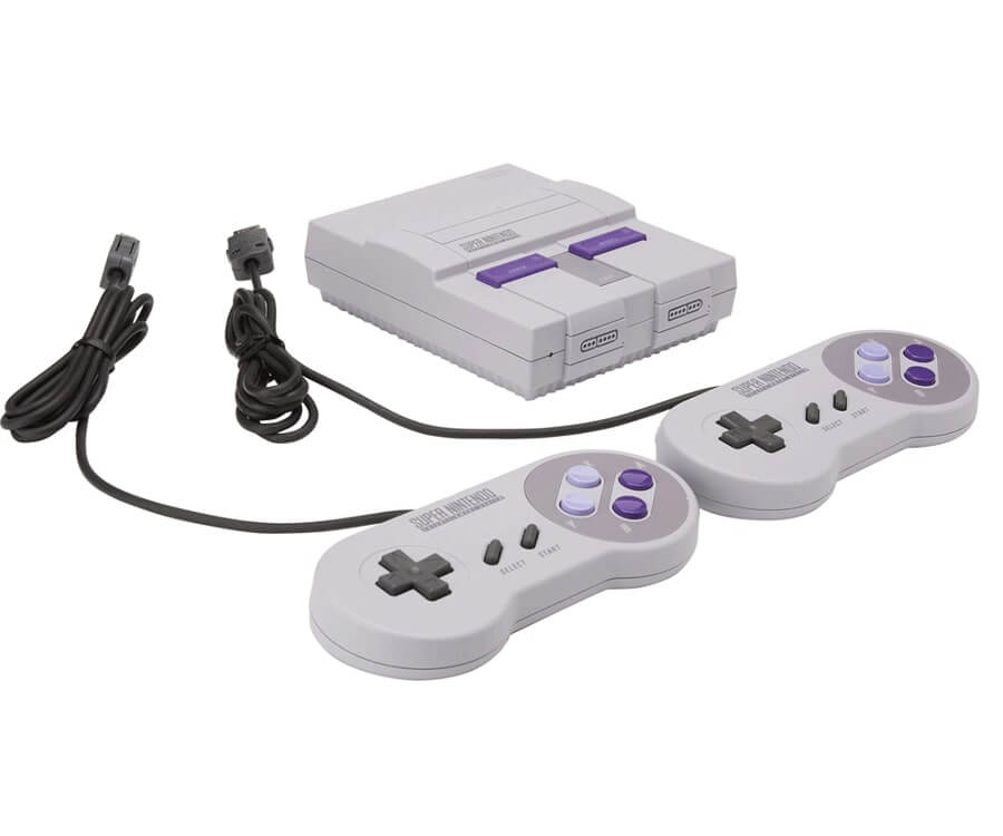 #2 best gifts for gamers: the SNES classic