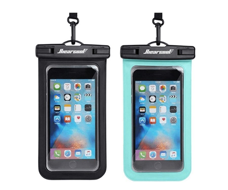 #33 best gifts for kayakers: Universal Waterproof Phone Case