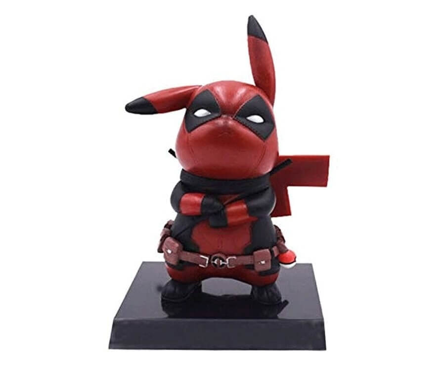 #27 unique gifts for gamers: deadpool pikachu