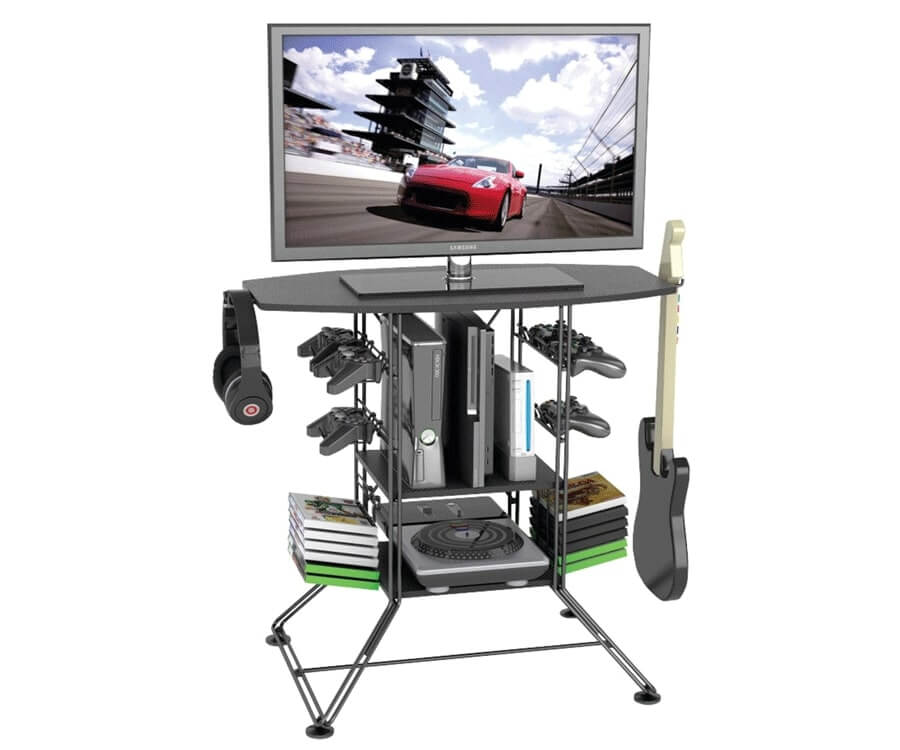 #20 gift ideas for gamers: gamer TV-stand