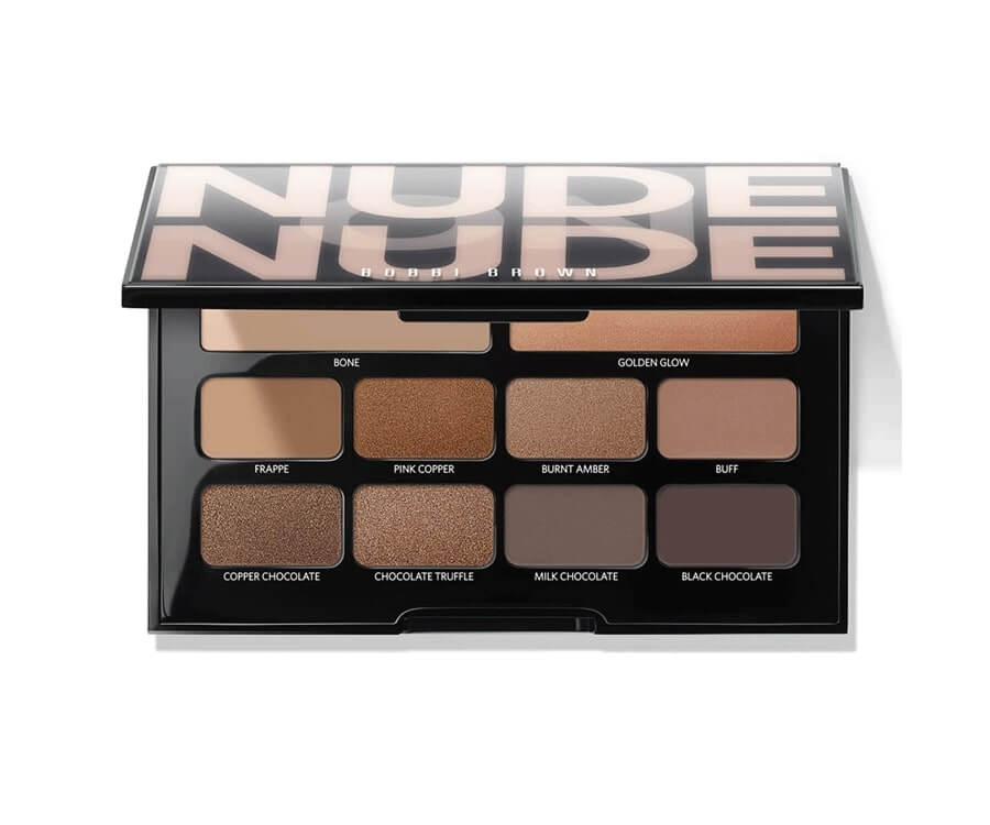 #11 beauty & makeup gift sets for her:Bobbi Brown nude on nude Eyeshadow Palette
