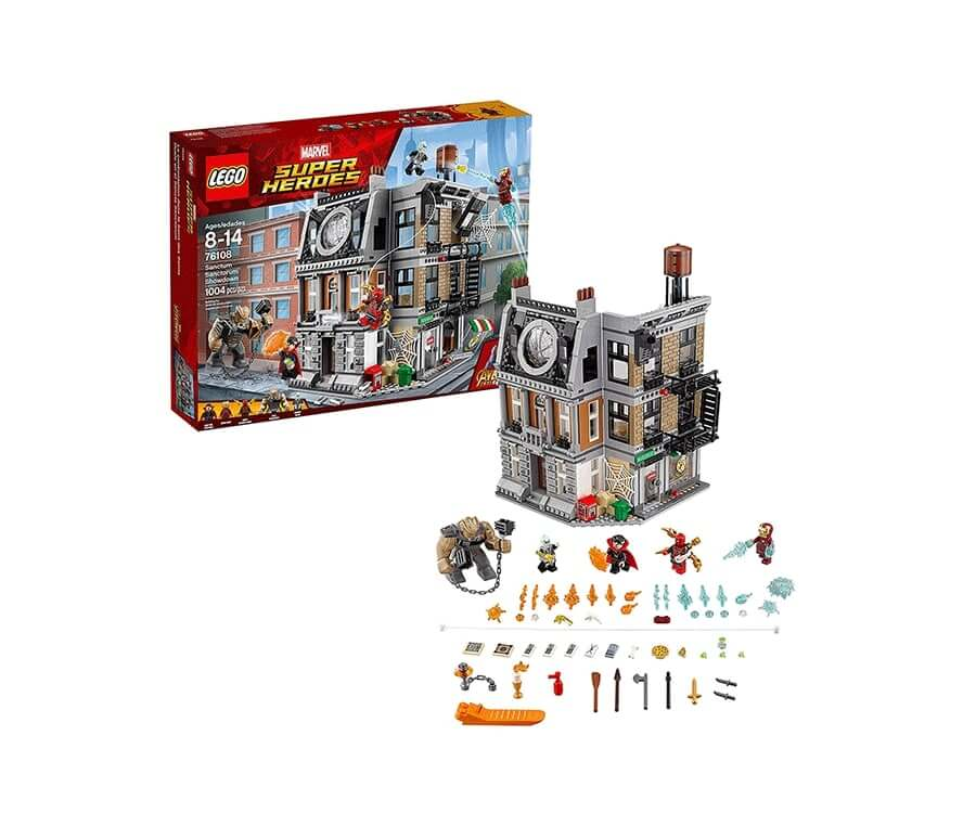 #7 cool lego gifts for adults: Avengers Infinity War Sanctorum