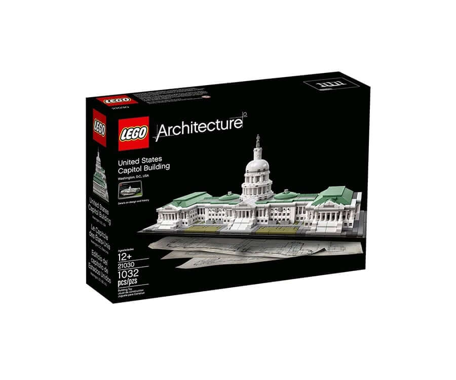 #6 cool lego gifts for adults: United States Capitol Building