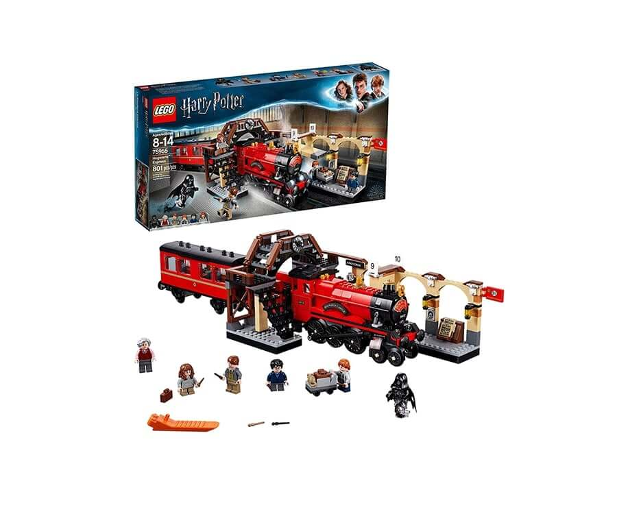 #10 cool lego gifts for adults: Harry Potter Hogwarts Express