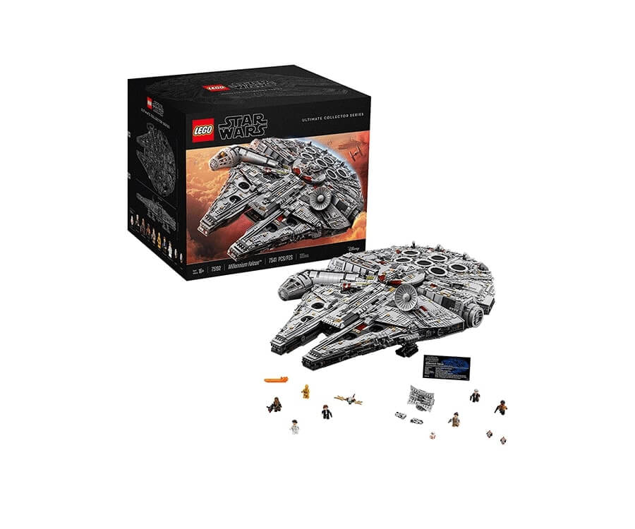 #1 cool lego gifts for adults: Star Wars Millennium Falcon Collector Edition