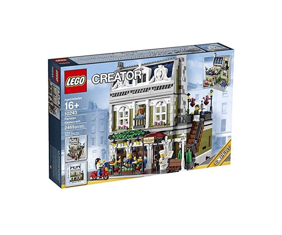 #5 cool lego gifts for adults: Parisian Restaurant