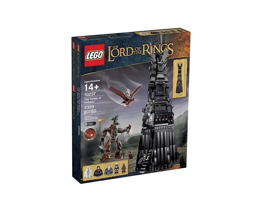 #4 cool lego gifts for adults: LOTR Sauron's Tower
