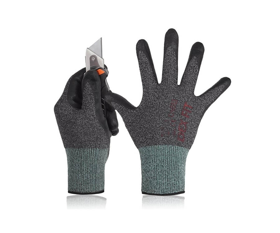 #5 gifts for handyman: Touch Screen Compatible Work Gloves