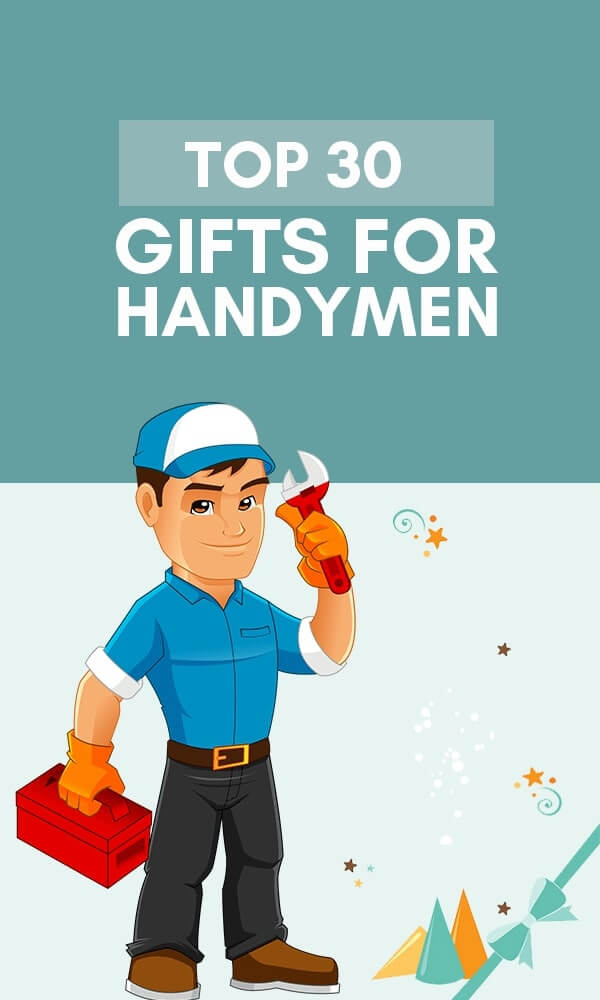 Title Infographic for our top 30 best gifts for handyman