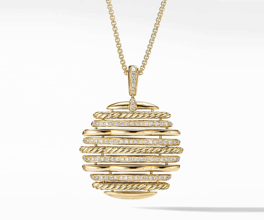 #22 over the top luxury gifts for her: David Yurman Pendant Necklace