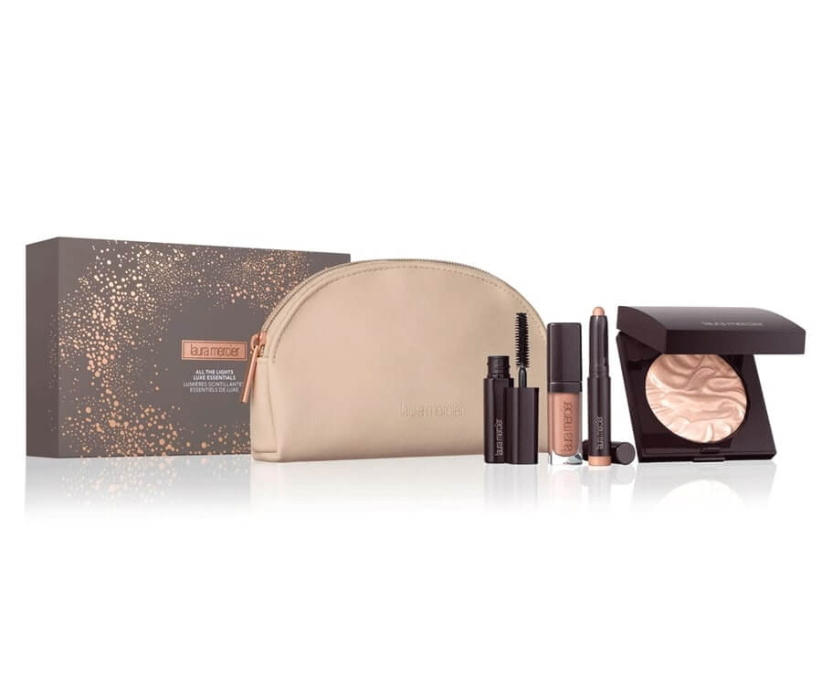 #18 beauty & makeup gift sets for her: essentials gift set by laura mercier