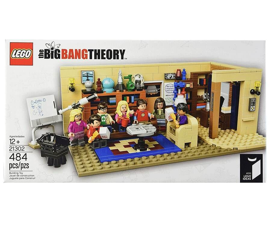 #8 cool lego gifts for adults: The Big Bang Theory Lego Set