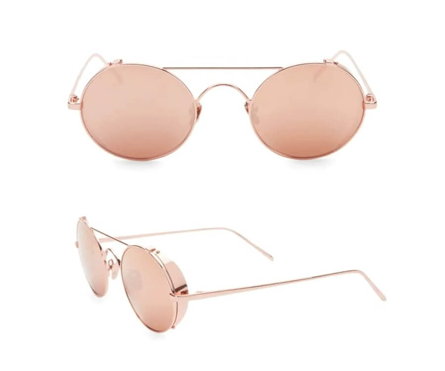 #29 over the top luxury gifts for her: Linda Farrow Aviator Sunglasses