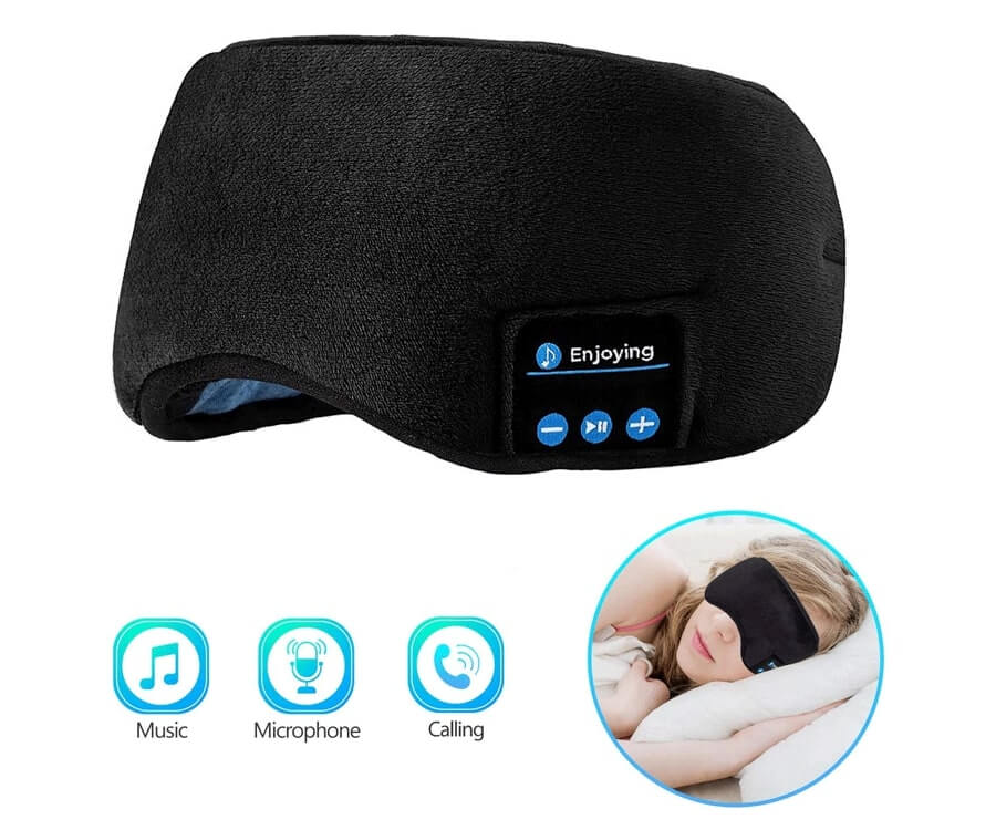 #22 gifts to relax for her: Musical Sleep Mask