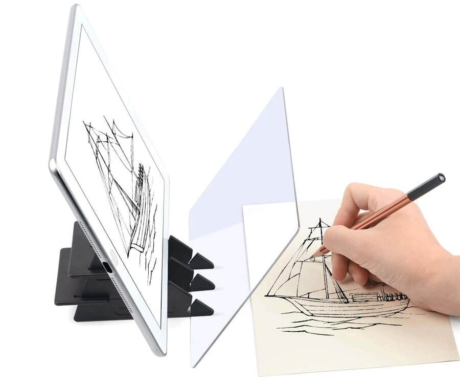 #27 cool gifts for sketch artists: optical tracing board
