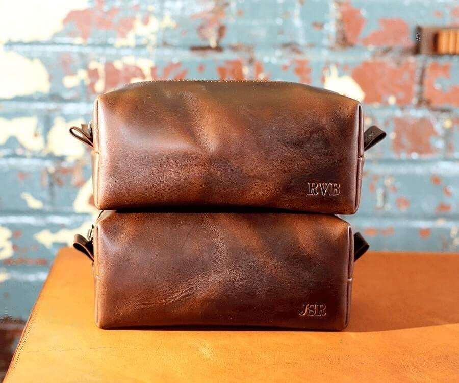 #3 best personalized gifts for him: toiletry bag