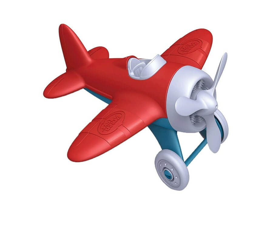 #15 eco friendly gifts for her: Green Toys Recycled Airplane