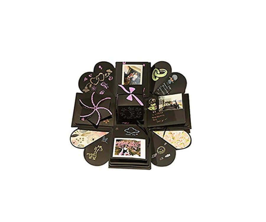 #12 best valentines gifts for her: Photo Album Gift Box