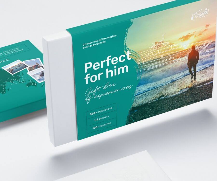 #4 unique travel gift ideas for men: Perfect For Him Experience Gift Box
