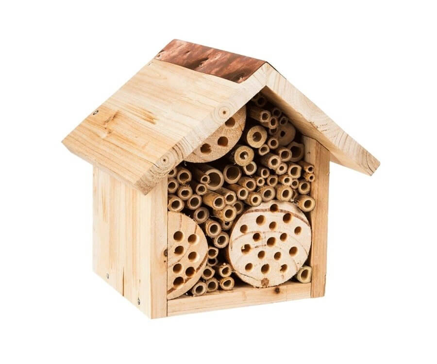 #21 eco friendly gifts for her: stylish bee house