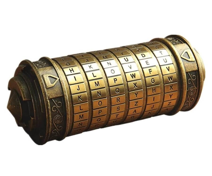 #27 best valentines day gifts for her: DaVinci Code cryptex