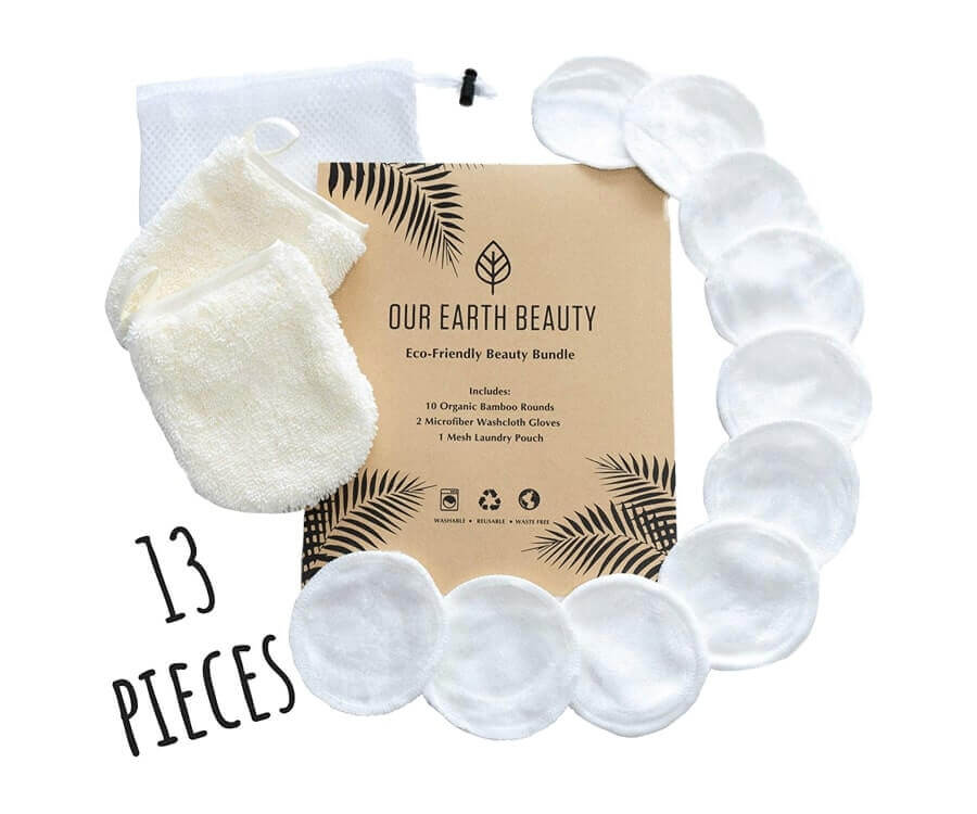 #3 eco friendly gifts for her: Washable Makeup Remover Set