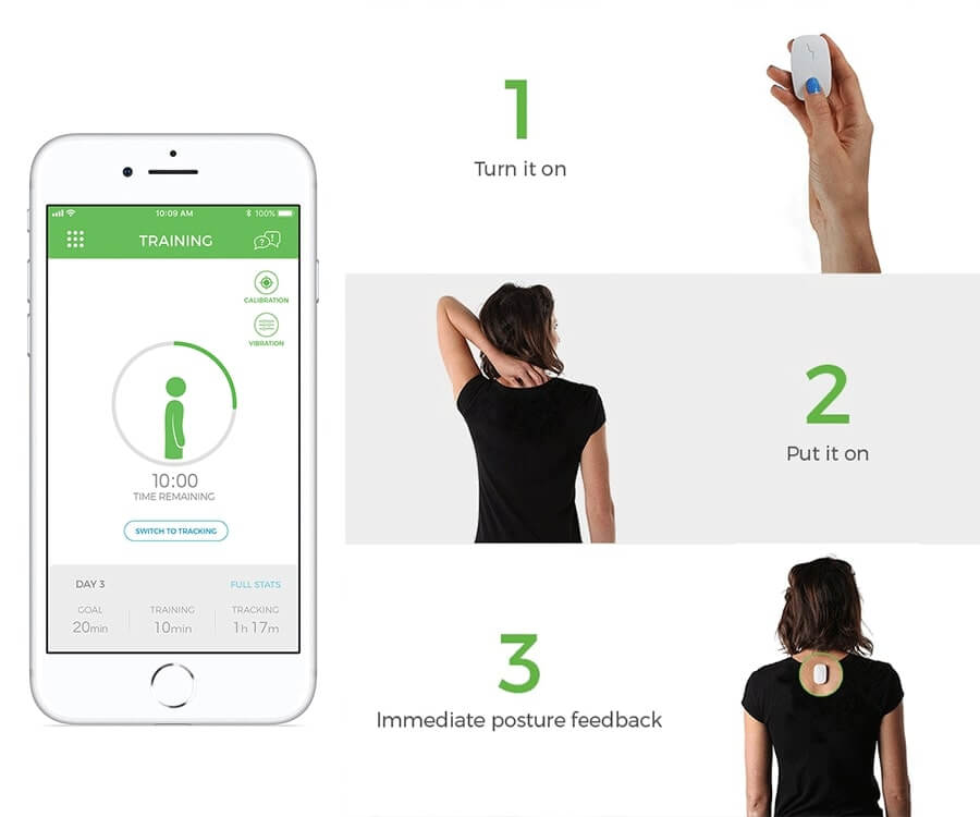 #25 best gifts for painters: upright go back corrector