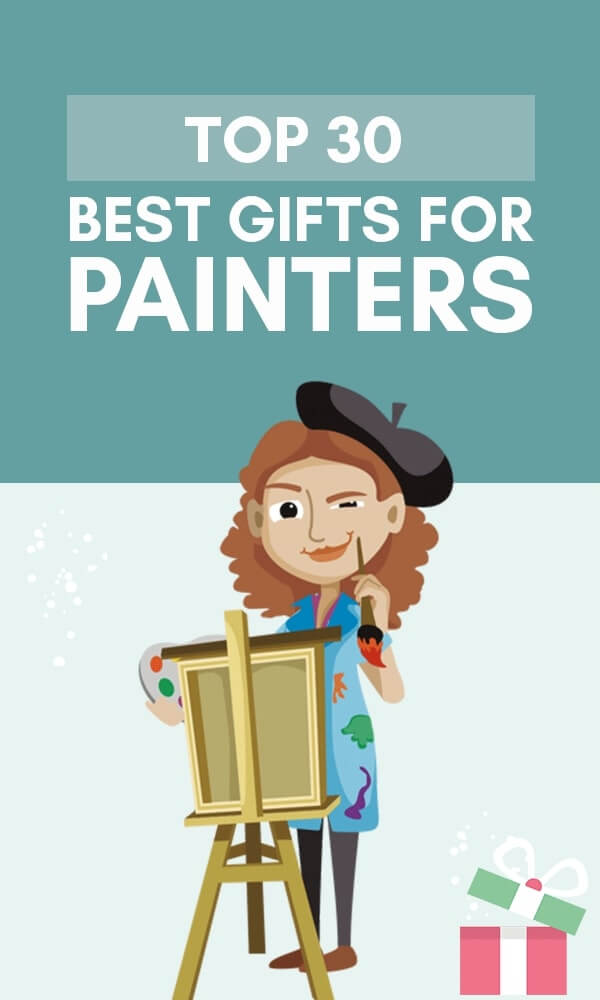 Infographic top 30 best gifts for painters