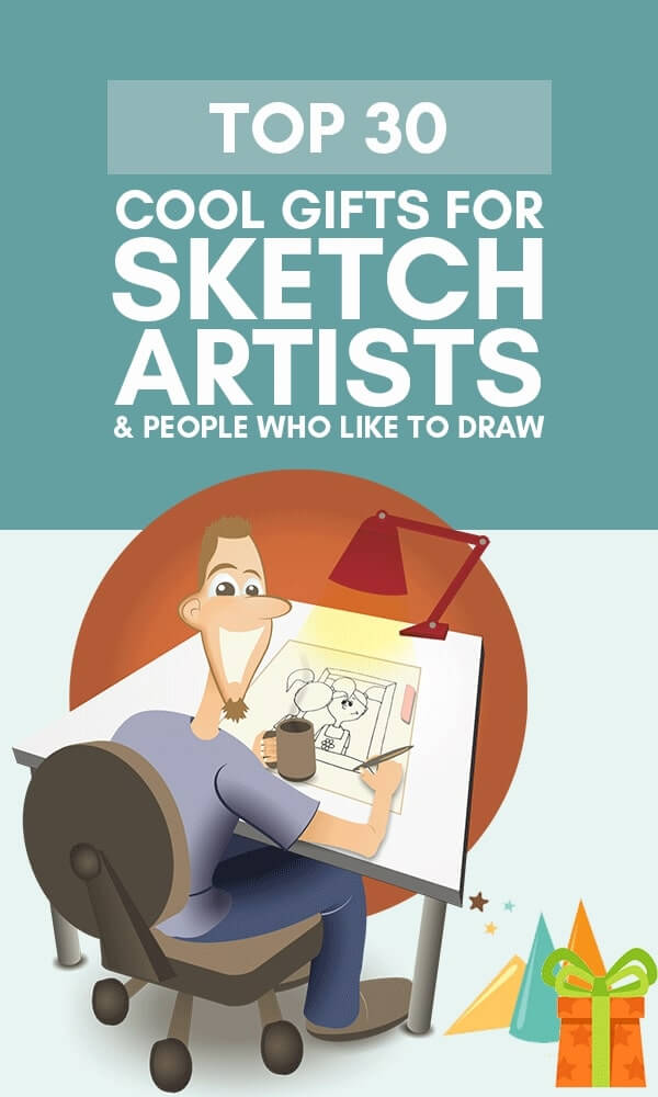 Infographic top 30+ cool gifts for sketch artists