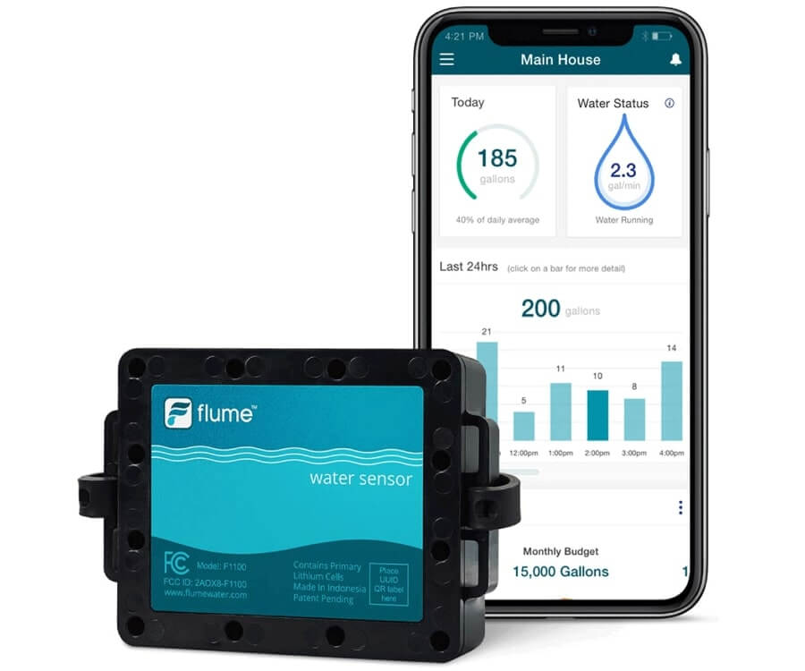 #11 cool gadgets for men: Water Monitoring Gadget
