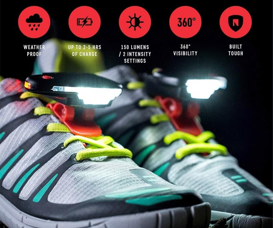 #37 useful gadgets for him: clip-on running lights