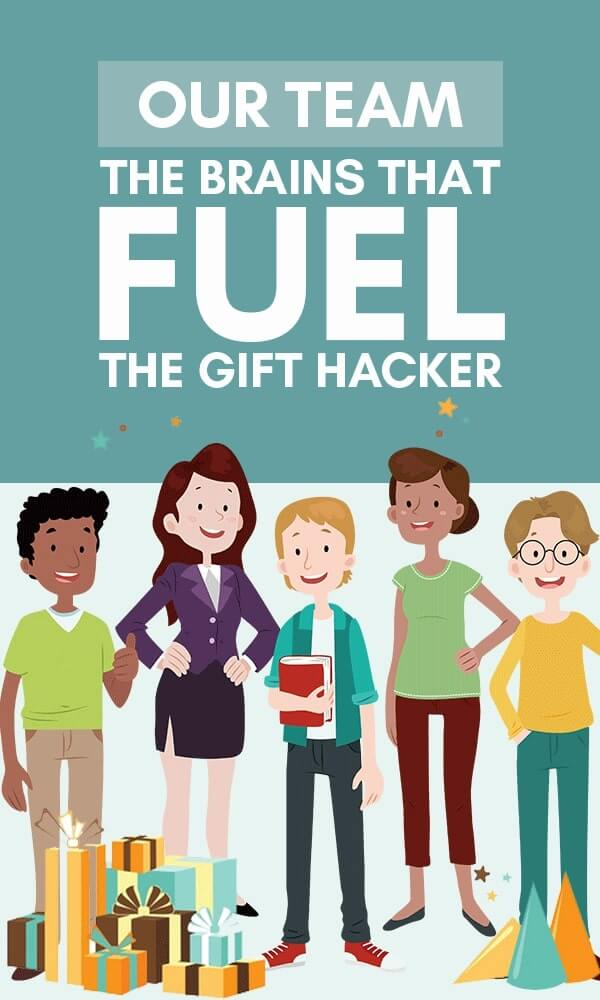 Title Infographic for The Gift Hacker About Us