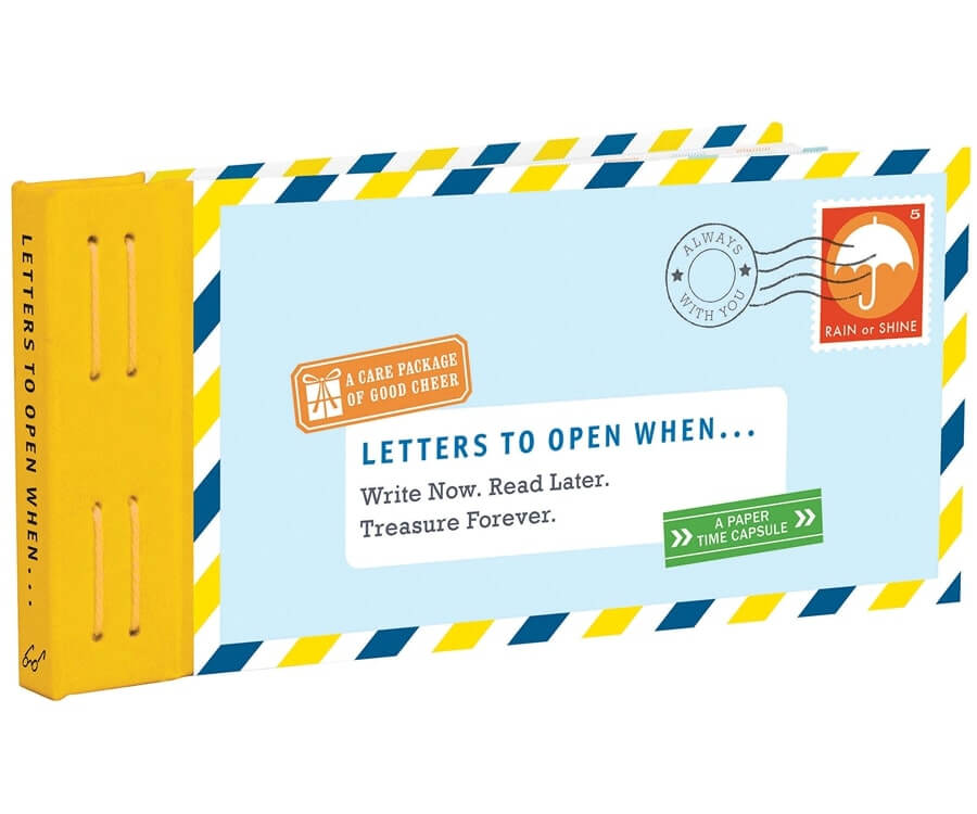 #3 best gifts for long distance boyfriends: LDR book of letters
