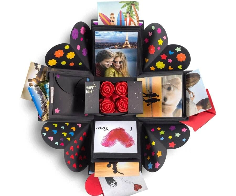 #15 best gifts for long distance boyfriends: LDR giftbox