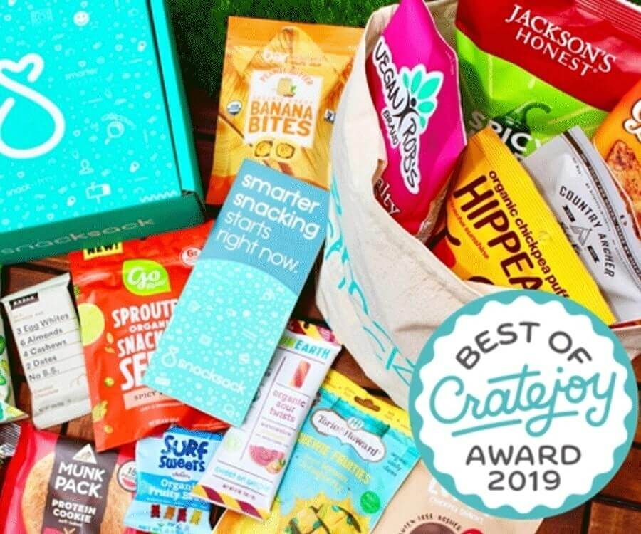 #4 best gifts for long distance boyfriends: monthly snackbox