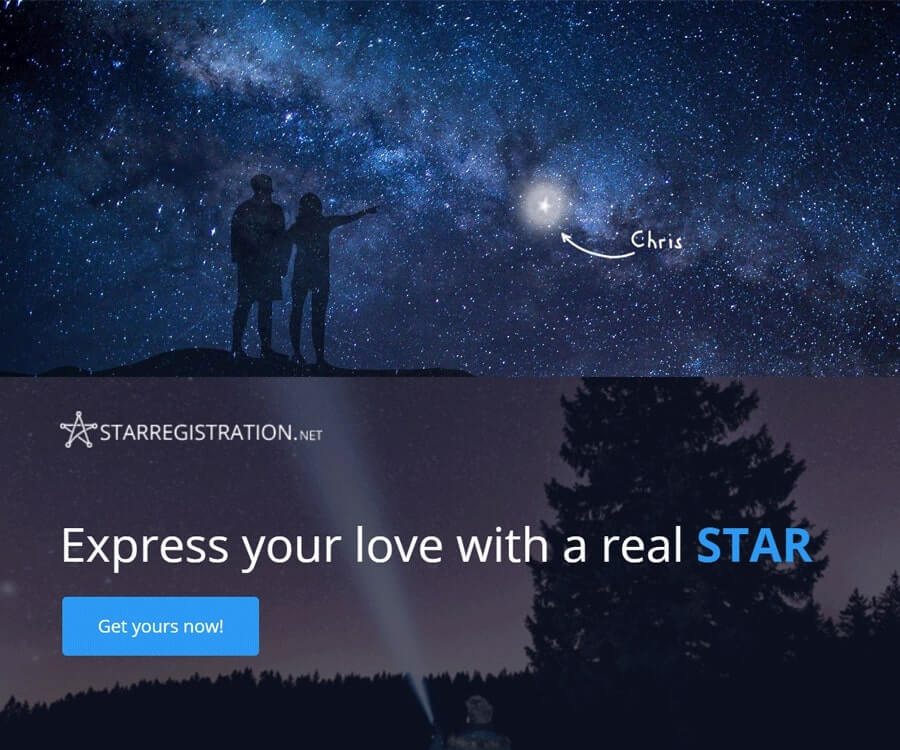 #1 best gifts for long distance boyfriends: name a star
