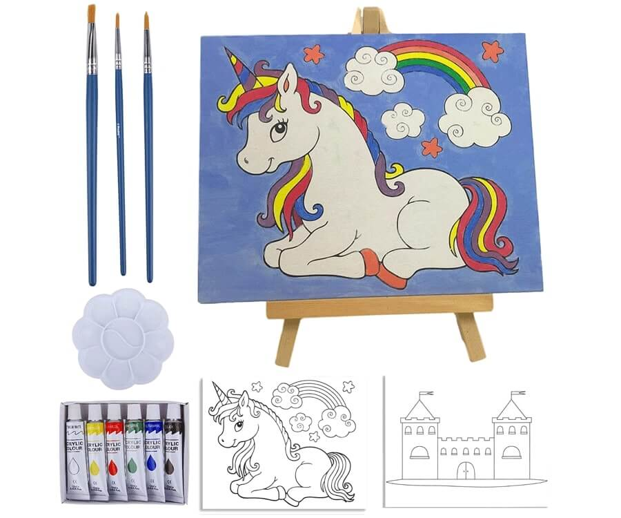 #5 best gifts for painters: kid's painting set