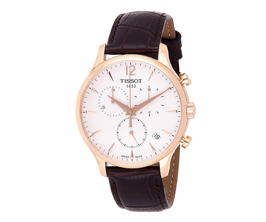 A Swiss Tissot Watch: A great classic retirement gift for your dad