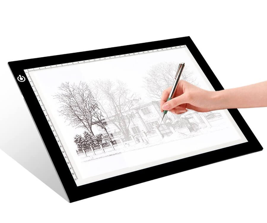 #10 cool gifts for sketch artists: light pad