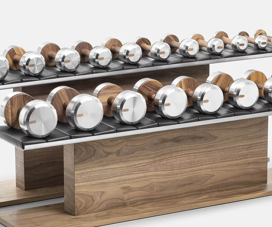 #12 luxury gifts for men: luxury dumbells by Pent