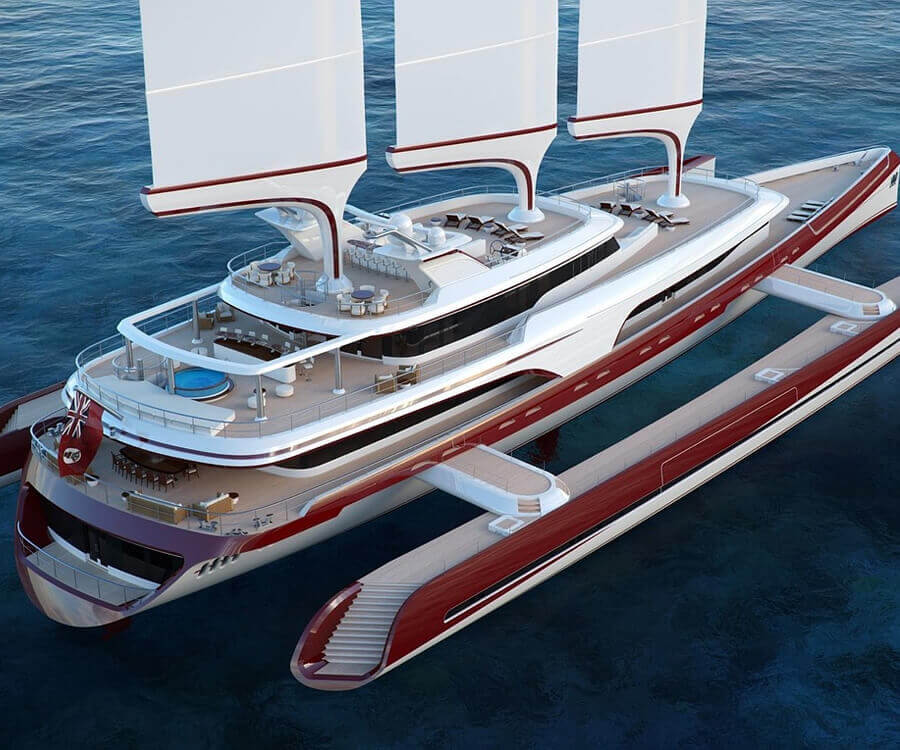 #38 luxury gifts for men charter a yacht